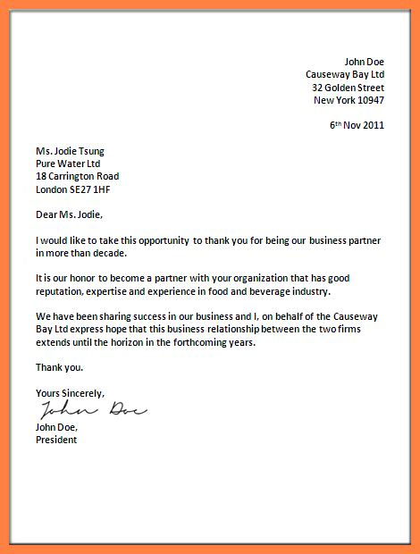 addressing a business letter 5 addressing a business letter marital settlements 20389 | addressing a business letter business address format this latter is about honor to become a partner with your organization good reputation expertise and experience in food and beverage industry