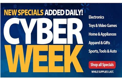 walmart    cyber sales rush product