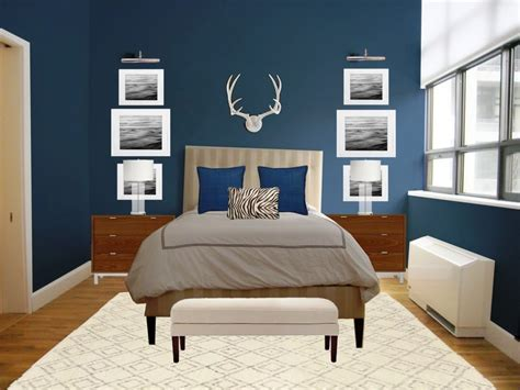 Bedroom Color Schemes White Walls