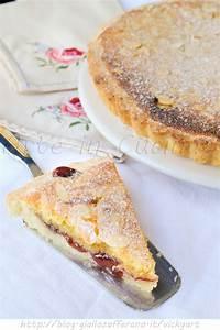 Crostata mandorle e marmellata con crema al burro Arte in Cucina