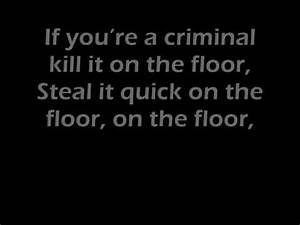 Jennifer lopez feat pitbull on the floor lyrics for Lyrics of on the floor of jennifer lopez