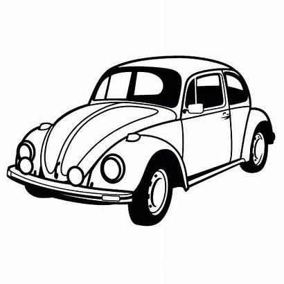 Coloring Bug Classic Vw Beetle Volkswagen Cars