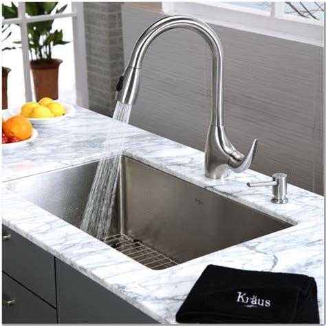 27 undermount kitchen sink 19 x 33 inch kitchen sink sink and faucet home 3847