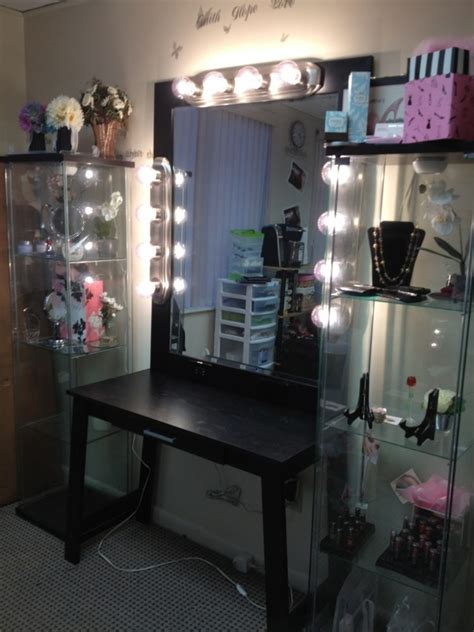 modern makeup vanity how dazzling makeup vanities for bedrooms with lights