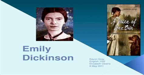 emily dickinson pptx powerpoint