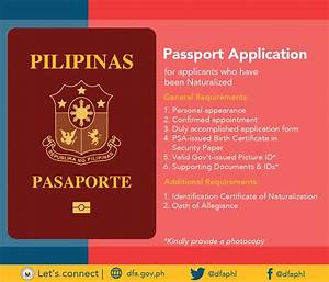 Pinoy seafarers39 rights philippine passport application for Passport documents required 2017
