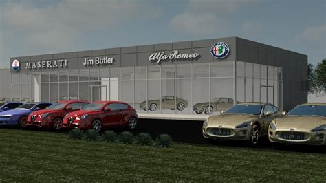 Romeo Dealership by Jim Butler Auto To Ground On Maserati Alfa