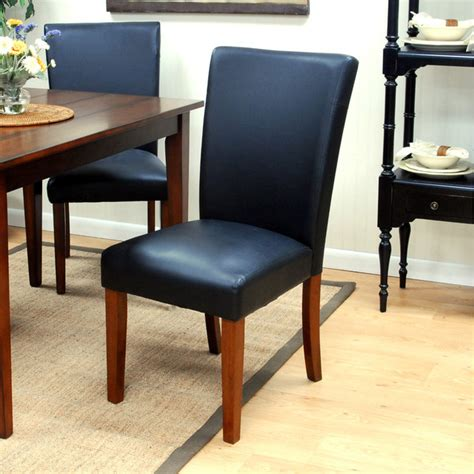 manhattan upholstered parsons chair contemporary