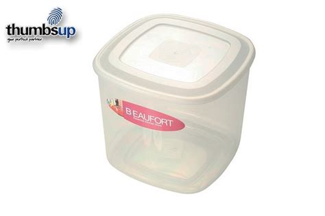 Beaufort Food Container Square Upright 5l  030136012 Ebay