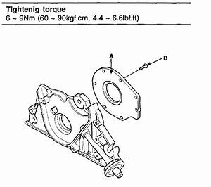 Diagram For 06 2 0 Hyundai Tucson Oil Pump Removal And
