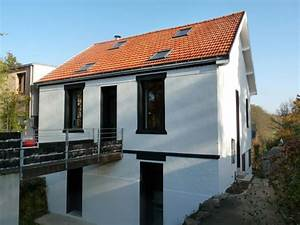 Choisir Couleur Facade Maison : choisir couleur facade maison photos de maisons neuves ~ Nature-et-papiers.com Idées de Décoration