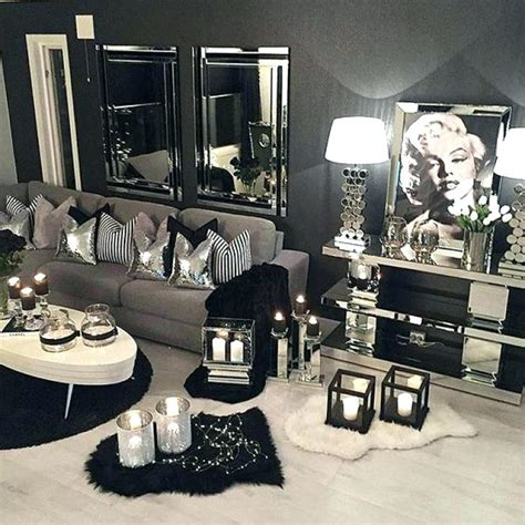 And Black Living Room Decor by Black White Grey Living Room Design