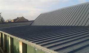Tole Pour Toiture : tole bac acier pour toiture rev tements modernes du toit ~ Premium-room.com Idées de Décoration