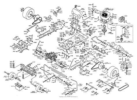 dixon ztr   parts diagram  chassis