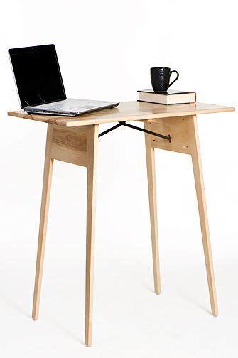 wide standing ash wood standing desk   wisconsin