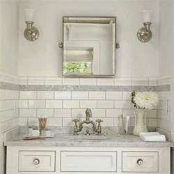 subway tile ideas bathroom white subway tile bathroom ideas and pictures