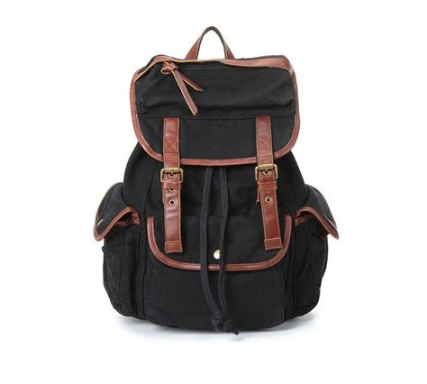 retro backpacks college backpacks travel bags  canvasbags