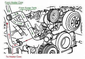 2000 Chevy Silverado No Heat  Line From Water Pump Is Hot