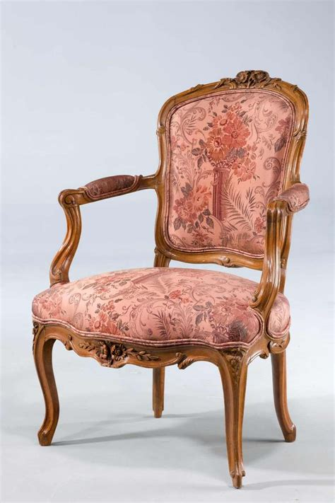 pair of louis xv period fauteuils for sale at 1stdibs
