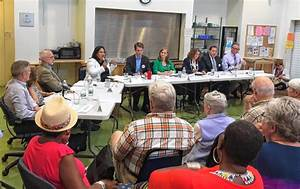 Candidates square off in 3rd Hampshire District debate