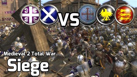 2 total war siege 2 total war battles 221 2v3 siege