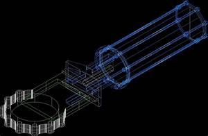 Valve Blade DWG Block for AutoCAD • DesignsCAD