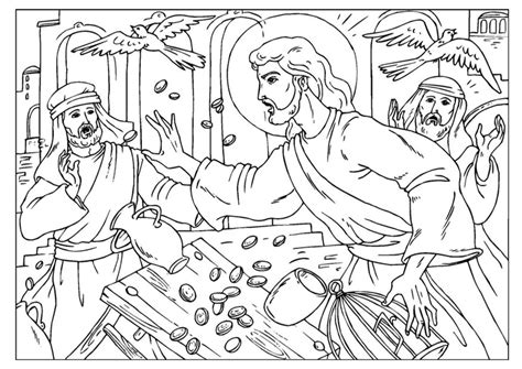 Tempel Kleurplaat by Coloring Page Cleansing The Temple Img 25918 Images