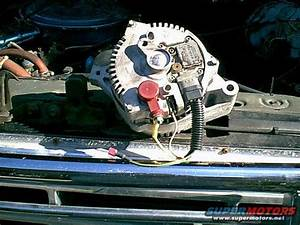 Installing Hd Alternator In 95 F350  460