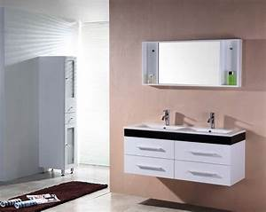 destockage meuble salle de bain double vasque salle de With destockage salle de bain