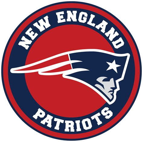 england patriots circle logo vinyl decal sticker