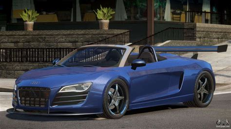 Audi R8 Roadster Tuning for GTA 4