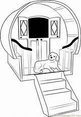 Dog Coloring Stairs Pages Stair Getcolorings Printable Coloringpages101 sketch template