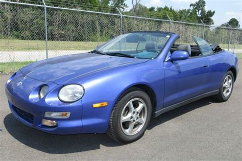 how it works cars 1997 toyota celica electronic toll collection find used 1997 toyota celica gt convertible 2 door 2 2l in tyler texas united states for us