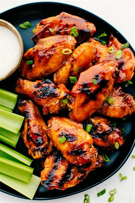 grilled honey buffalo chicken wings  recipe critic