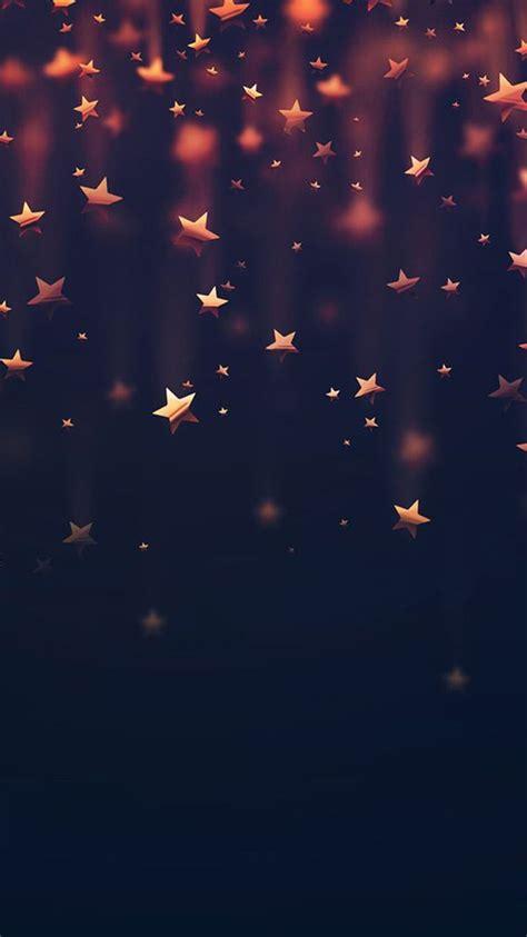 golden falling stars iphone  wallpaper iphone wallpapers pinterest wallpaper