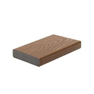 Trex Select Decking Home Depot by Trex Select 2 In X 5 1 2 In X 16 Ft Saddle Square Edge
