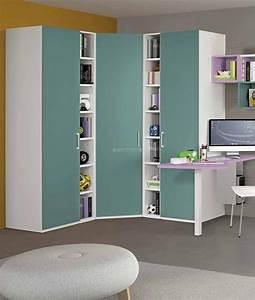Armadio Ad Angolo Con Cabina E Librerie H 227 5 Cm