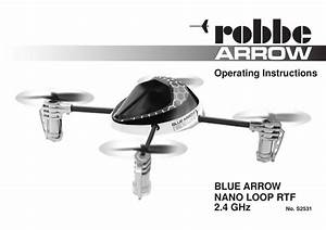 Robbe Blue Arrow Nano Loop 2 4 Ghz Operating Instructions