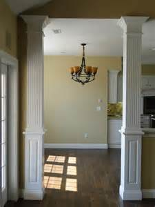 home interior wall columns interior custom homes by tompkins construction