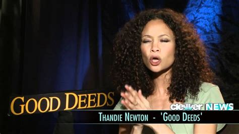 She is most known for her critically acclaimed role in crash, which she received several awards for. Thandie Newton Interview - Good Deeds | Thandie newton ...