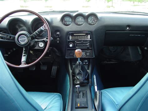 nissan 260z interior file my restored 71 datsun 240z with rare blue interior