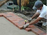 how to lay brick patio How to Lay a Brick Paver Patio | how-tos | DIY