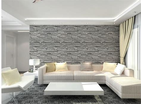 papier peint brique gris 2014 gros gris brique brique motif pvc papier peint papier peint moderne minimaliste salon
