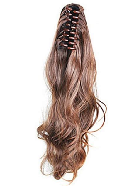 Claw Clip Synthetic Wavy Ponytail, Carrie Underwood