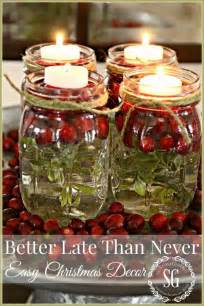 15 easy mason jar christmas decorations you can make yourself