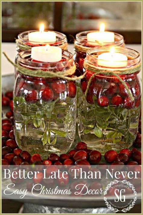15 easy mason jar christmas decorations you can make