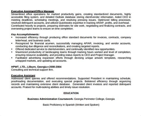 office assistant resume templates   sample