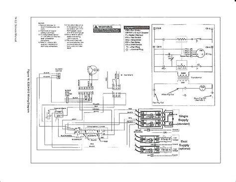 Climatrol Wiring Diagram by Nordyne Wiring Diagram Electric Furnace Dogboi Info