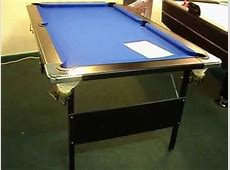 Deluxe Folding Leg Pool Table by Baize Craft of Lisburn, N
