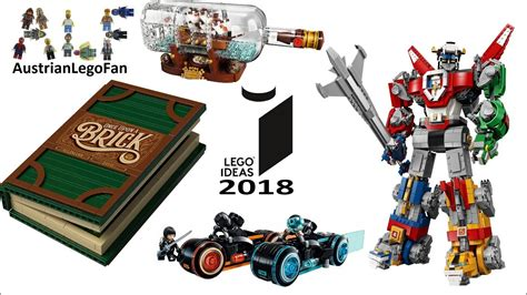 lego ideas 2018 all lego ideas sets 2018 complete collection lego speed build review